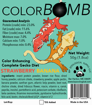 ColorBomb Gecko Diet