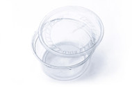 12 oz Punched Deli Cup (With Lid) 5 Pack