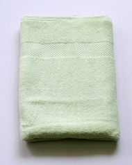 Bamboo Hand Towel Color Apple Green