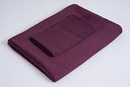 Bamboo Duvet Cover Set, Color Dark Purple