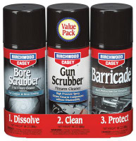 Gun/Bore Scrub Cleaning Combo Pack 3 Aerosol Cans - No CA Sales - 029057333091
