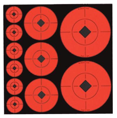 Self-Adhesive Target Spots Assortment 132 Total - 029057339284
