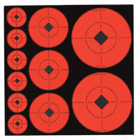 Self-Adhesive Target Spots Assortment 132 Total - 029057339284