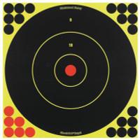 Shoot-N-C 12 Inch Round Bullseye 12 Targets 288 Pasters - 029057340228