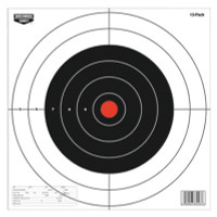 Plain Paper Targets Twelve Inch Round Pack of 13 - 029057370133
