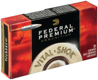 Vital-Shok .270 Winchester 130 Grain Trophy Bonded Tip Nickel Plated Case - 029465099589