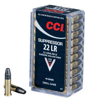 CCI 957 22LR SUPPRESSOR 45GR HP - 076683009579