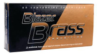 Blazer Brass Ammunition .38 Special 125 Grain Full Metal Jacket 50 Per Box - 076683052049