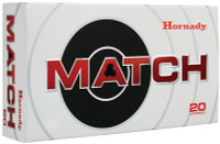 Match Rifle Ammunition .223 Remington 75 Grain Boattail Hollow Point - 090255380262
