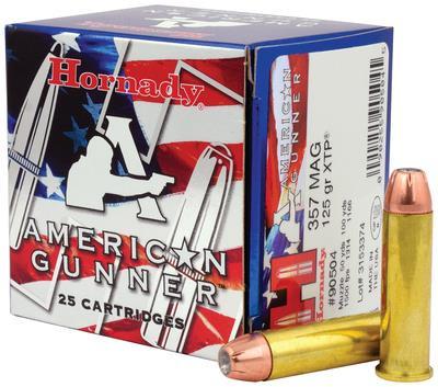 American Gunner  357 Magnum 125 Grain XTP