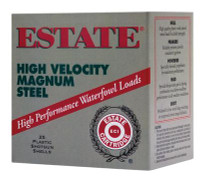 Estate High Velocity 12 Gauge 3 Inch 1425 FPS 1.25 Ounce 4 Steel Shot - 604544230444