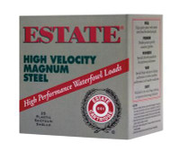Estate High Velocity 20 Gauge 2.75 Inch 1400 FPS .75 Ounce 2 Steel Shot - 604544235425