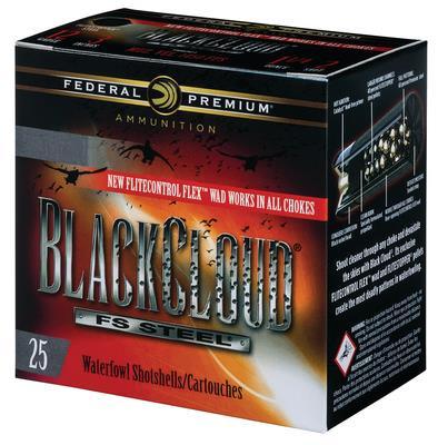 Premium Black Cloud FS Steel 12 Gauge 3 Inch 1450 FPS 1.25 Ounce 3 Shot - 604544623307