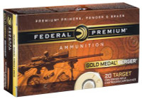 Gold Medal Berger 6.5 Creedmoor 130 Grain Berger Hybrid VLD - 604544624038