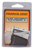 Grip Extension Plus Glock Models 26/27/33/39 Sub Compacts Increases Magazine Capacity - 605849200392