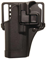 SERPA CQC Concealment Holster for Smith & Wesson M&P Shield Matte Finish Black Left Hand - 648018219757