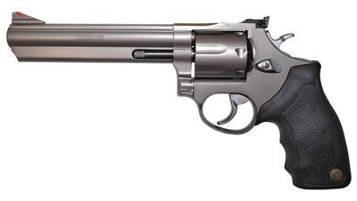Model 66 .357 Magnum 6 Inch Barrel Matte Stainless Finish Adjustable Sight 7 Round - 725327200185