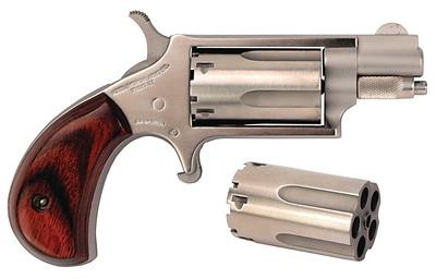 Mini Revolver Conversion .22 Long Rifle/.22 WMR 1.125 Inch Barrel Matte Finish 5 Round - 744253000232