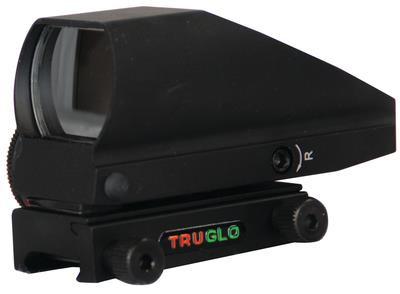 Tru-Brite Dual Color Open Red-Dot Sight 5 MOA Dot Boxed Black - 788130016664