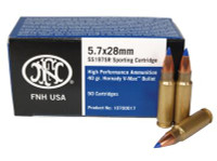 5.7x28mm 40 Grain Blue V-Max 50 Per Box FN USA Product Distributed By Federal Premium - 818513003612