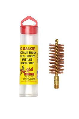 Bronze Shotgun Bore Brush 10 Gauge - 709779100354