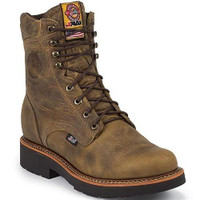 "Justin 441 ST 8"" Lace Up - 731871882951"