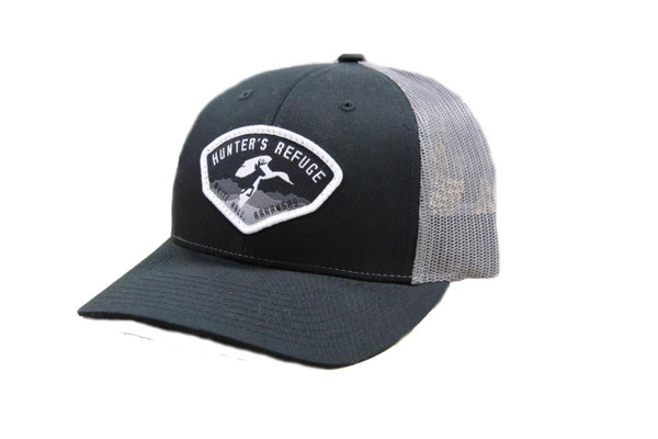Hunter's Refuge Black Richardson Hat - 400100003007