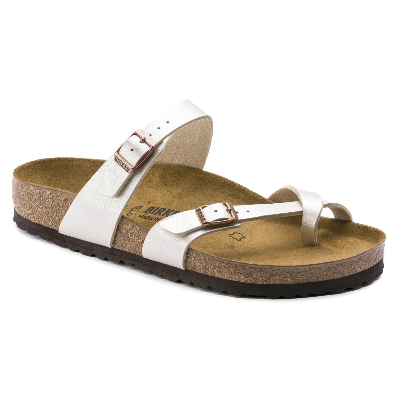 Birkenstock 71661 Mayari Graceful Pearl White - 809410892508