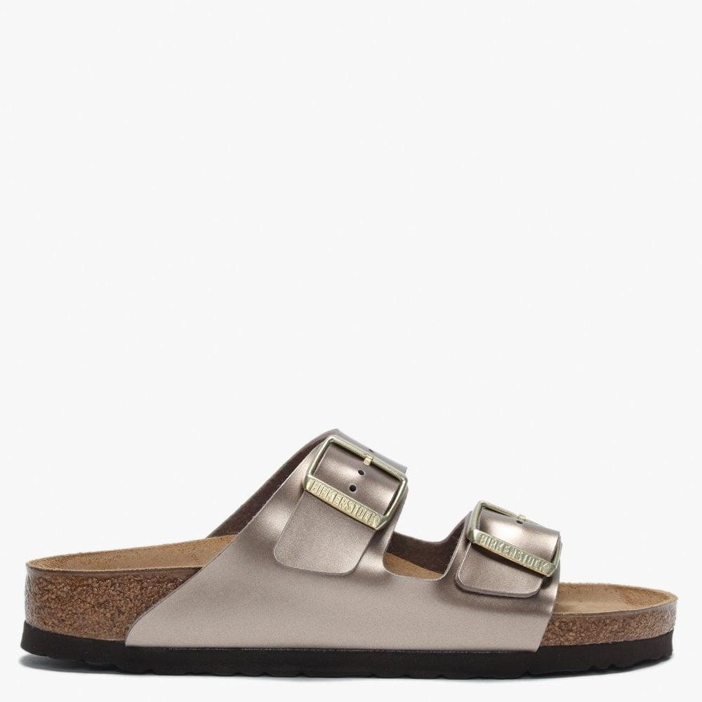 Birkenstock 1012972 Arizona Metallic Taupe - 886457433628
