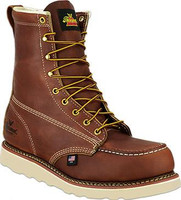 "Thorogood 804-4208 ST 8"" Lace Up Brown - 014799821951"