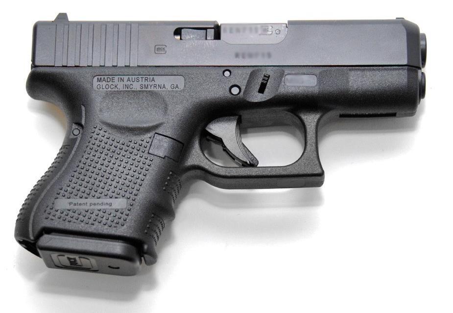 Glock 27 Gen 4  40 S&W 9rd Pistol