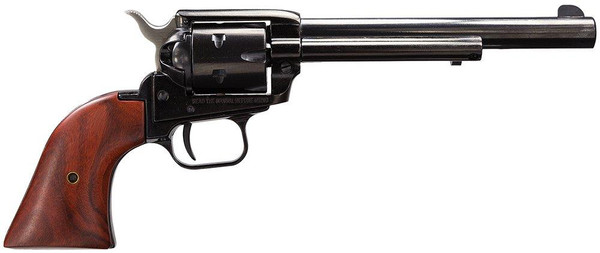 """Heritage RR22MB6 Rough Rider 6RD 22LR/22MAG 6.5"""" Blued Revolver - 727962500316"""