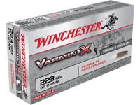 Winchester X223P Varmint X 55gr 223 Rem Bullets - (20/box) - 020892219977