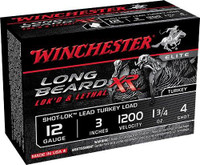 Winchester STLB1234 Longbeard Turkey 12ga Shells - (10/box) - 020892021341