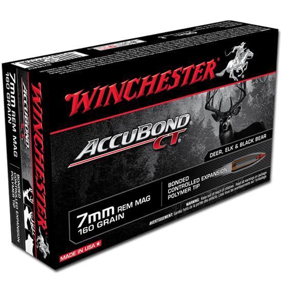 Winchester S7MMCT 160gr 7mm Rem Mag Bullets - (20/box) - 020892214347