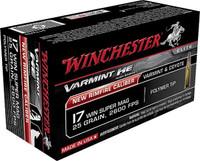 Winchester S17W25 25gr 17 Win Bullets - (50/box) - 020892103108