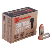 Hornady 90900 45 Auto 185gr Critical Defense Bullets - (20/box) - 090255909005