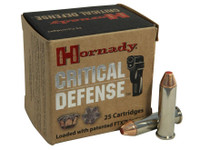 Hornady 90500H Critical Defense 357 Mag 125gr Bullets - (25/box) - 090255905007