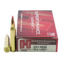 Hornady 8025 223 Rem 53gr V-Max Superformance Bullets - (20/box) - 090255380255