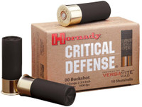 Hornady 86240 Critical Defense 12ga 00 Buckshot - (10/box) - 090255862409