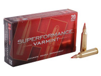 Hornady 83366 Superformance 22-250 Rem 50gr V-Max Bullets - (20/box) - 090255833669