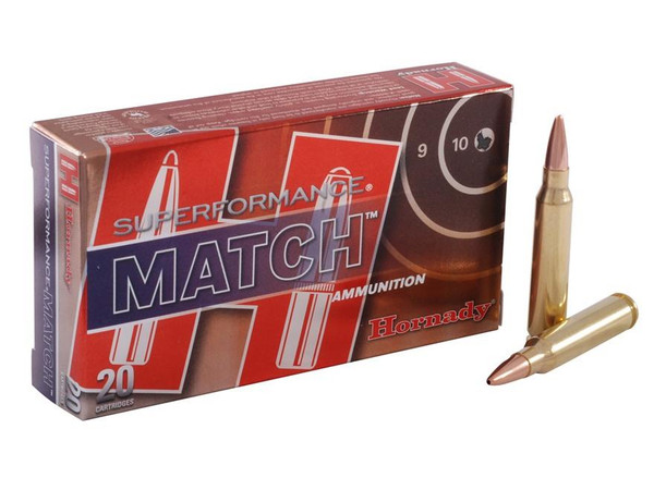 Hornady 80264 223 Rem 75gr BTHP Superformance Match Bullets - (20/box) - 090255802641