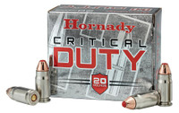 Hornady 90926 45 Auto+P 220gr FlexLock Citical DUTY - (20/box) - 090255909265