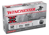 Super-X 12 Gauge 2.75 Inch 1600 FPS 1 Ounce Rifled Slug Hollow Point - 020892000414