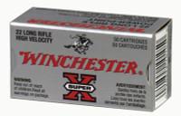 Super-X .22 Long Rifle 40 Grain Plated Power-Point 100 Per Box - 020892101944