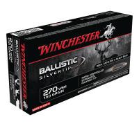 Ballistic Silvertip .270 Winchester Short Magnum 150 Grain - 020892213982