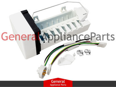 whirlpool maytag kenmore refrigerator replacement icemaker w10190981  w10122533  price: $69 99  image 1