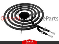 "ClimaTek Range Cooktop Stove 6"" Small Surface Burner Element Replaces GE Roper Hotpoint # WB30X256"