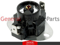 ClimaTek Clothes Dryer Adjustable Thermostat Limit Disk Switch Replaces Frigidaire # 5303320993
