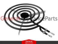 """ClimaTek 8"""" Surface Burner Replaces Frigidaire # K1314330 K1311110 K1310240 K1303302 8013939 8005320"""